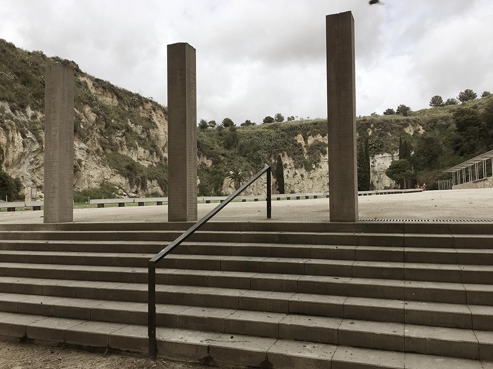 Fossar de la Pedrera am Cementerio de Montjuic