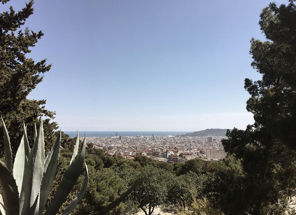 Panorama Parc Güell