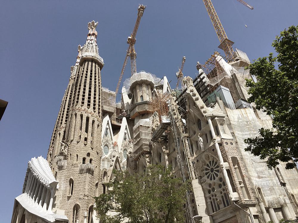 Sagrada Familia die ewige Baustelle