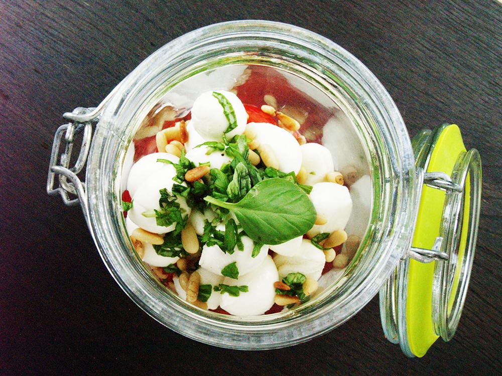 Caprese Tomaten Mozarella Salat
