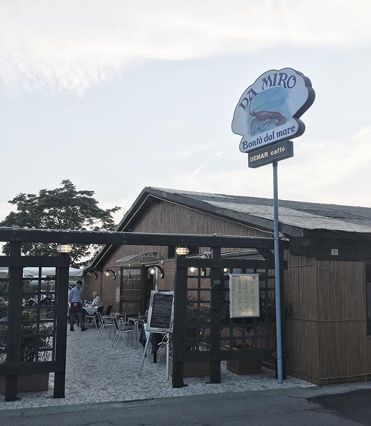 Lignano Sabbiadoro Restaurant da Miro