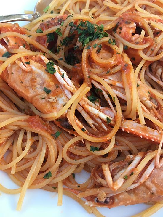 Lignano Sabbiadoro Restaurants Da Miro Spaghetti Busara