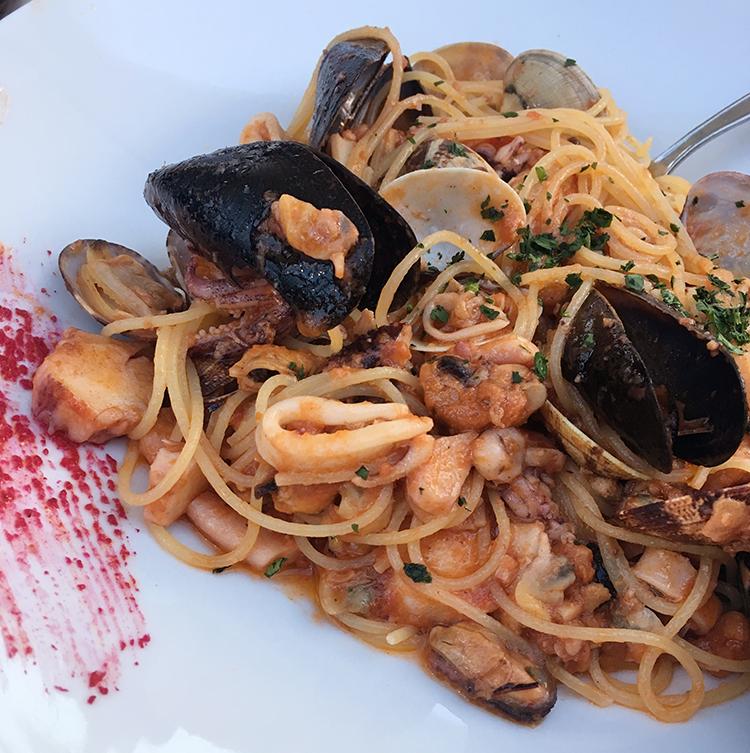 Lignano Sabbiadoro Restaurants Da Miro Spaghetti Pescatore