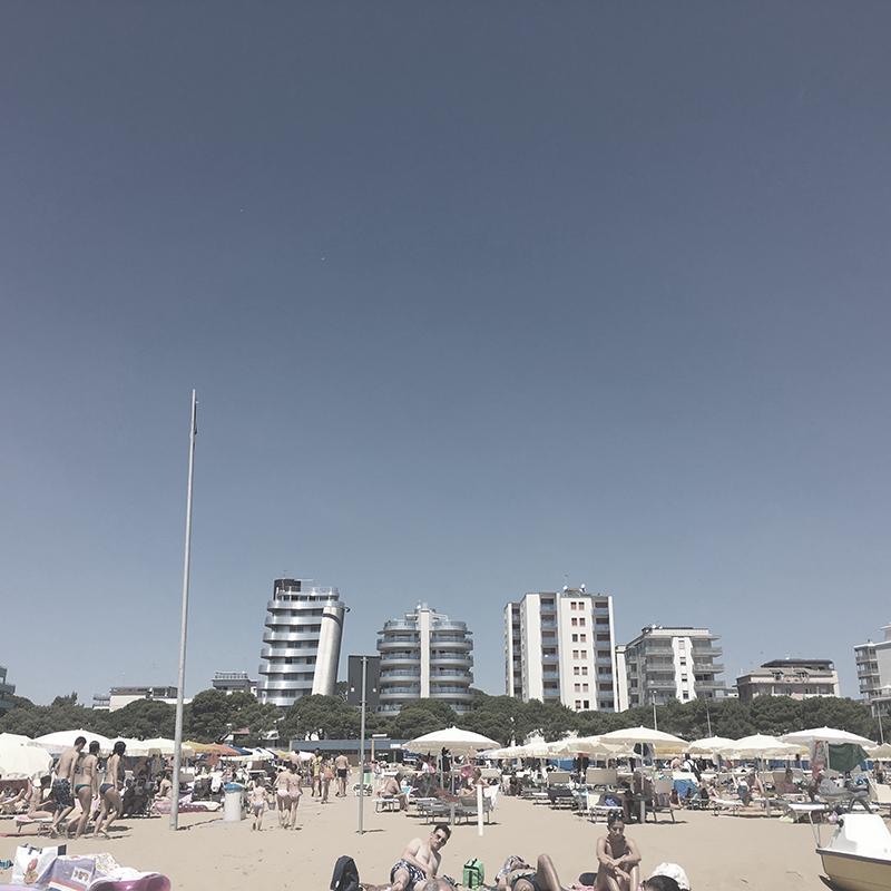 Lignano Sabbiadoro Strand Skyline
